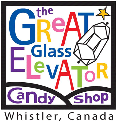 Great Glass Elevator Candy Shop logo