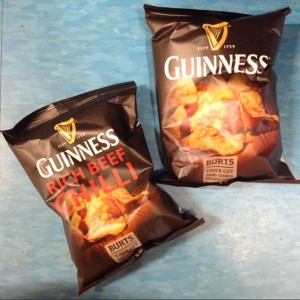 From the UK - Guinness chips!